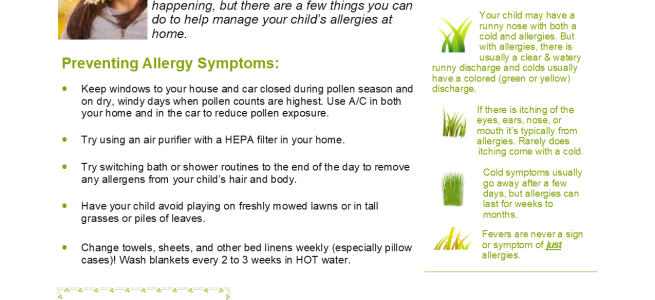 allergies – Wasatch Pediatrics – Southpoint